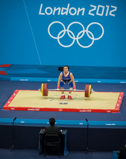 Olympics 2012: Women's 75kg Weightlifting | by simononly