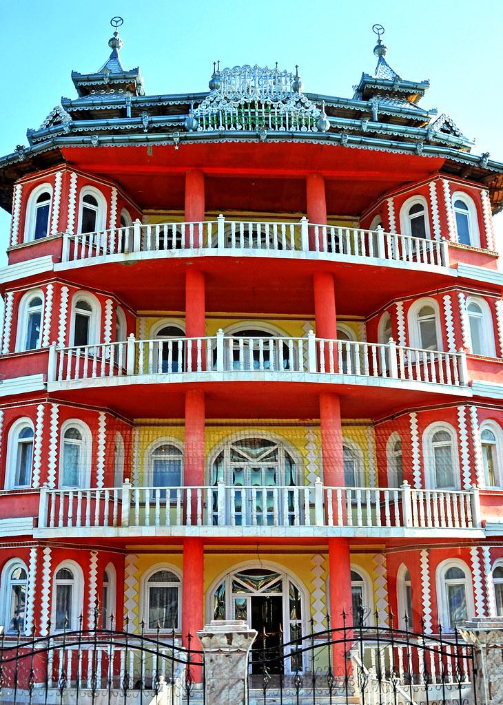 Romania 2433 Gypsy Mansion Please No Multi