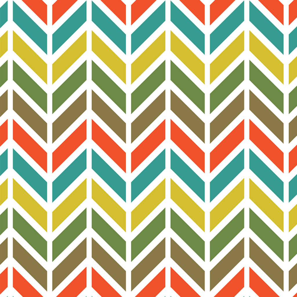 how to create chevron pattern