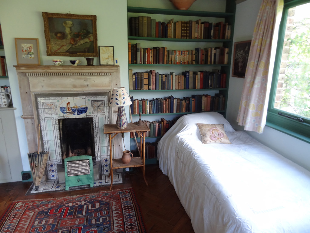 Monk S House Virginia Woolf S Bedroom Monk S House Was