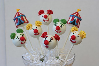 Circus Cake Pop Assortment | by Sweet Lauren Cakes