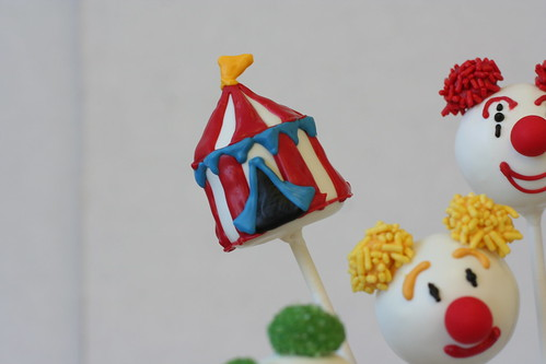 Circus Tent Cake Pop | by Sweet Lauren Cakes