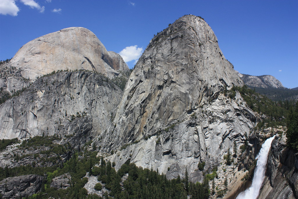 Yosemite National Park Half Dome Liberty Cap And Nevada