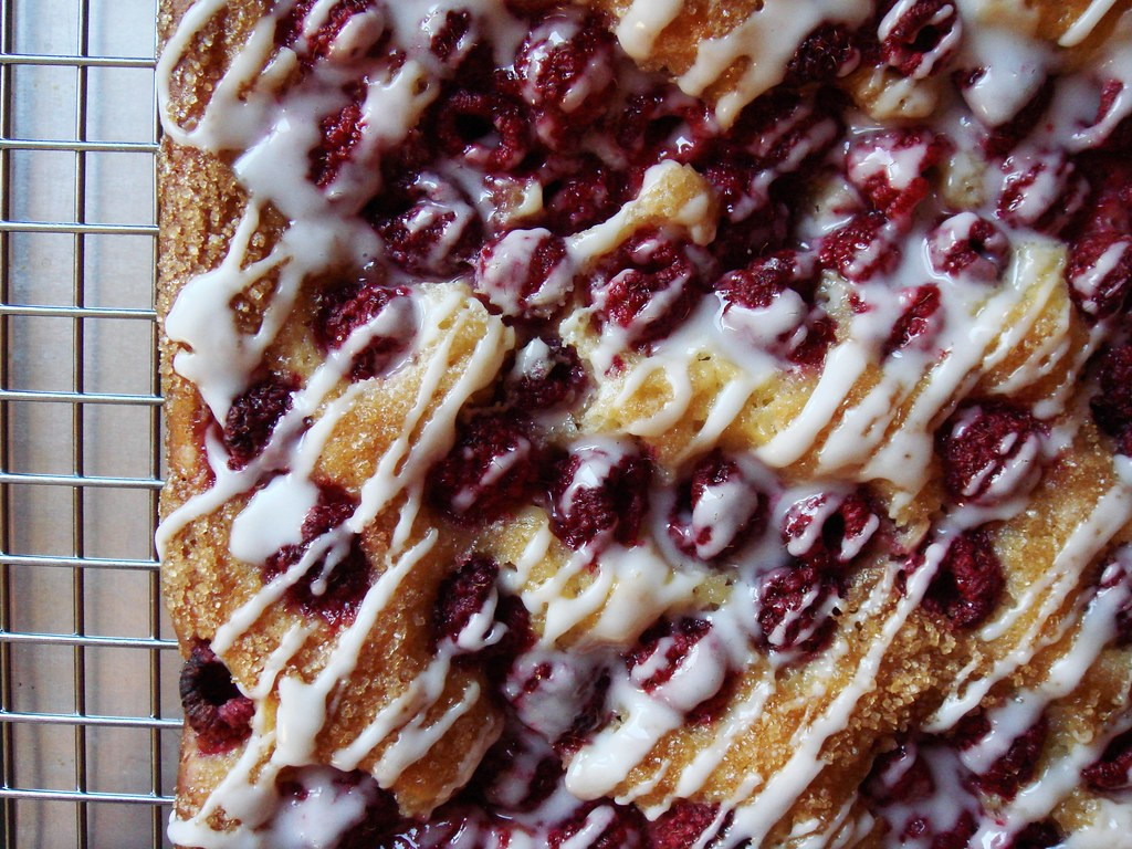 raspberry kuchen i 39 m totally infatuated with yeast leaven flickr. Black Bedroom Furniture Sets. Home Design Ideas