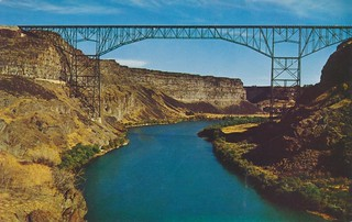 Perrine Memorial Bridge - Twin Falls, Idaho | by The Cardboard America Archives