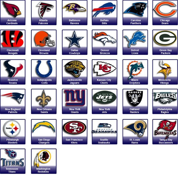 National Football League (NFL) Teams   The National Football…   Flickr