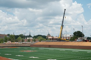 Football/Lacrosse Complex Progress | by merceradmissions