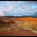 Evening at the Painted Hills..