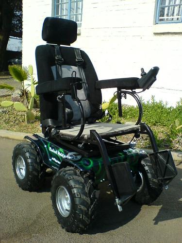 Predator 4 x 4 power wheelchair radical mobility flickr for All terrain motorized wheelchairs