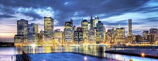 Brooklyn Heights Esplanade pano | by Tony Shi Photos