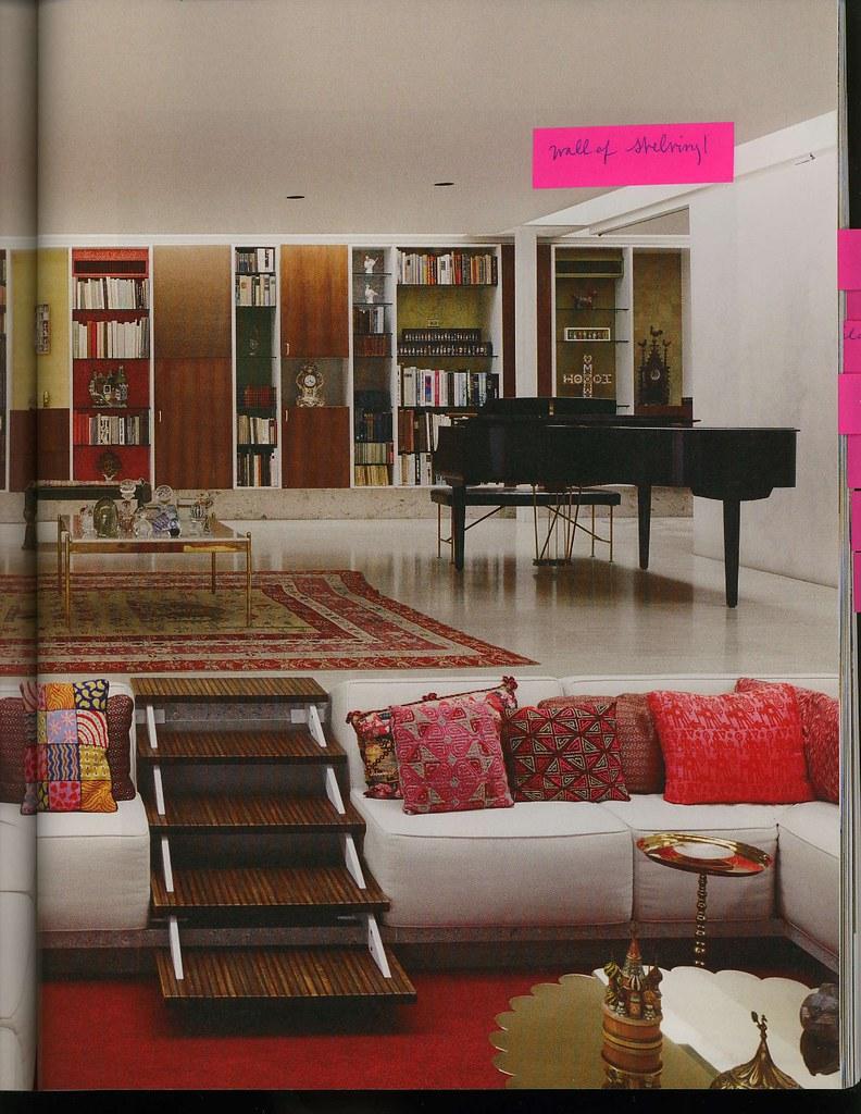 Shelves and sunken living room neat ideas more walls of for Sunken living room 70 s