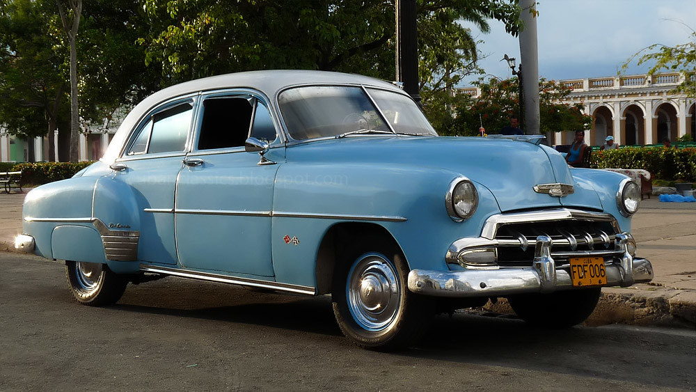1952 chevrolet styleline deluxe 4 door sedan in cuba flickr for 1952 chevy 2 door sedan