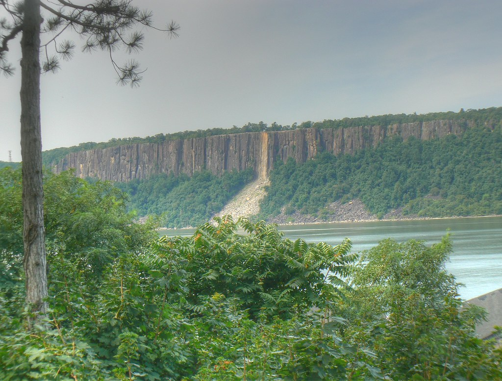 Hudson River Palisades View Is From Hastings On Hudson