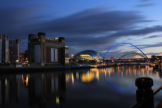 tyne bridges and baltic flour mill | by 19andy76