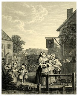 009-Los cuatro momentos del dia- The complete works of William Hogarth..1800 | by ayacata7