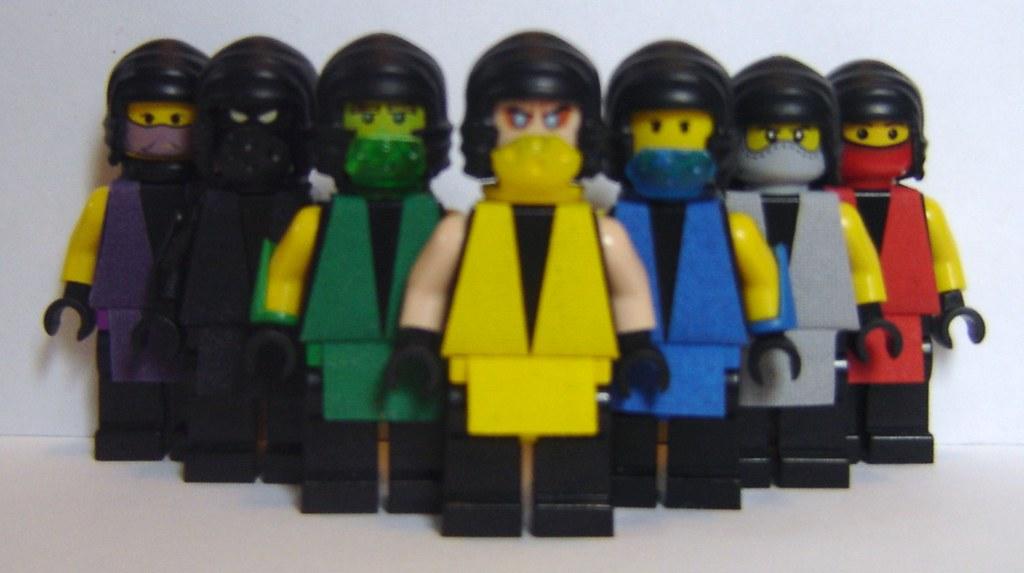 ... Mortal Kombat Ninjas | by ChocoBricks Customs