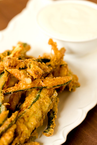 Crispy on the outside, tender inside – perfect zucchini fries | by Brown Eyed Baker