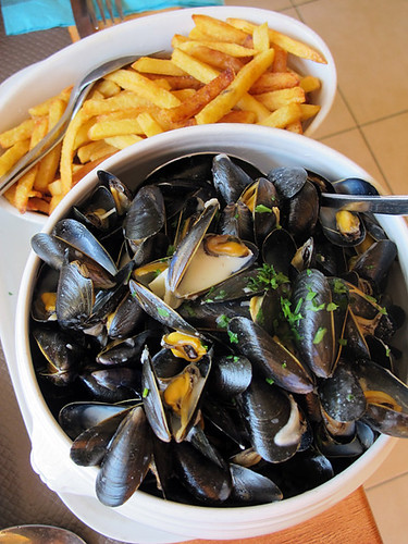 moules frites | by David Lebovitz