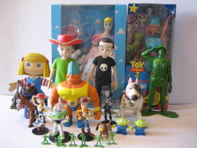 Toy Story Figures : Medicom toy story figures not mine elvis flickr