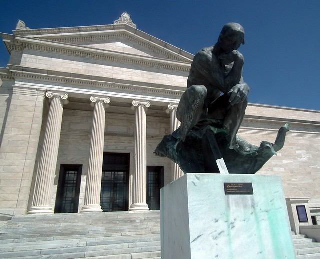 The Thinker at the Cleveland Museum of Art - Flickr - Photo Sharing!