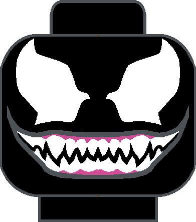 venom head | A lego Venom head decal based on what the ...