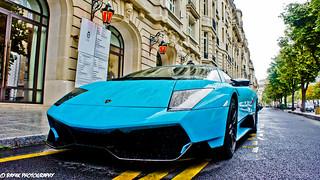 Raindrops Lamborghini Murcielago Lp670 4 Sv Paris Ile
