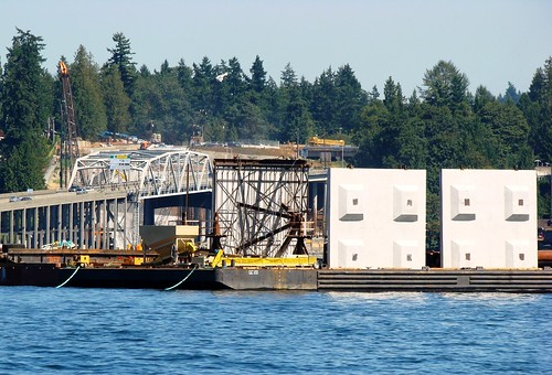 New bridge anchors being delivered | by WSDOT