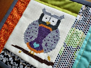 Midnight Owl Mug Rug | by Miss-Print