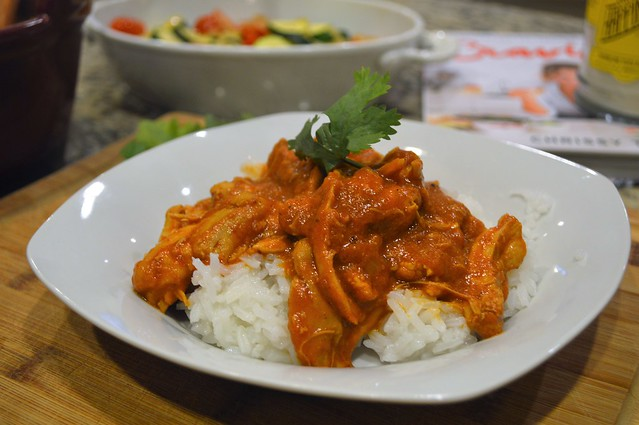 Slow Cooker Curried Chicken with Ginger and Yogurt