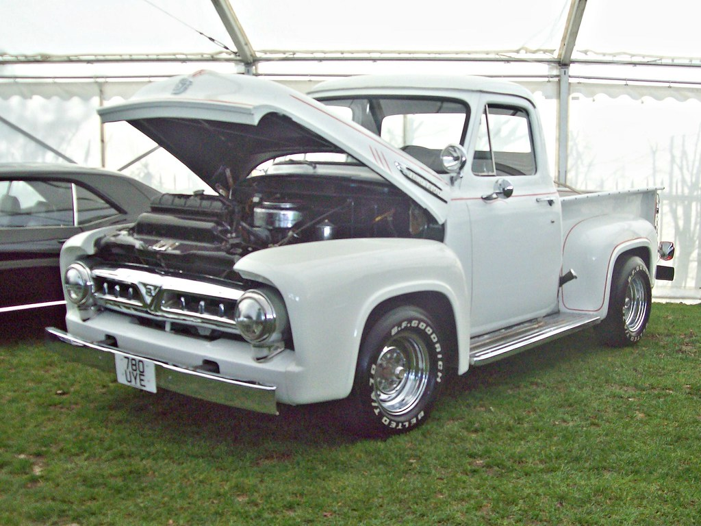 450 Ford F100 Pick Up 1953 56 E Flickr 1950s By Robertknight16