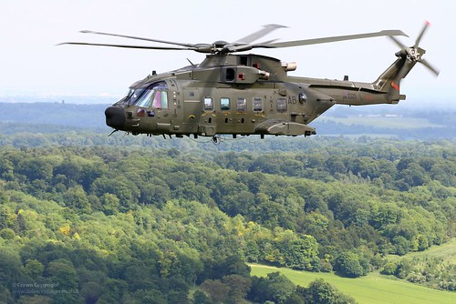 RAF Merlin HC3A Helicopter of No28 Sqn | by Defence Images
