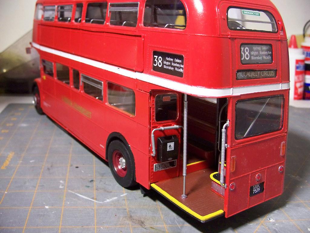 revell routemaster 1 24 bus model progress on the model bu flickr. Black Bedroom Furniture Sets. Home Design Ideas