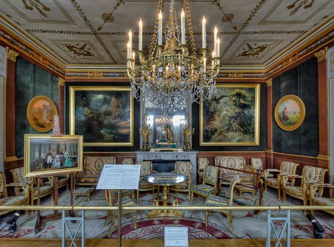Ch teau de la malmaison 7 salon dor 1 claude rozier for Aurora maison de cuisine dallas