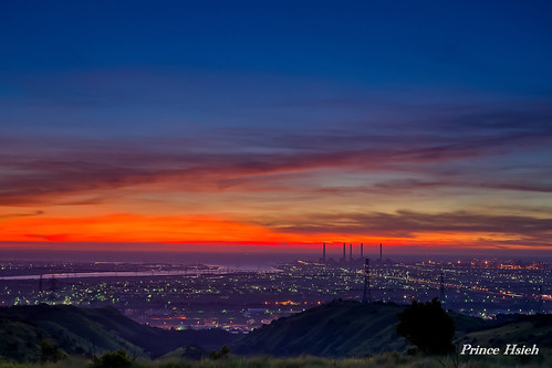 大肚山夕景 - Sunset of DaDu mountain - Taichung City | by prince470701