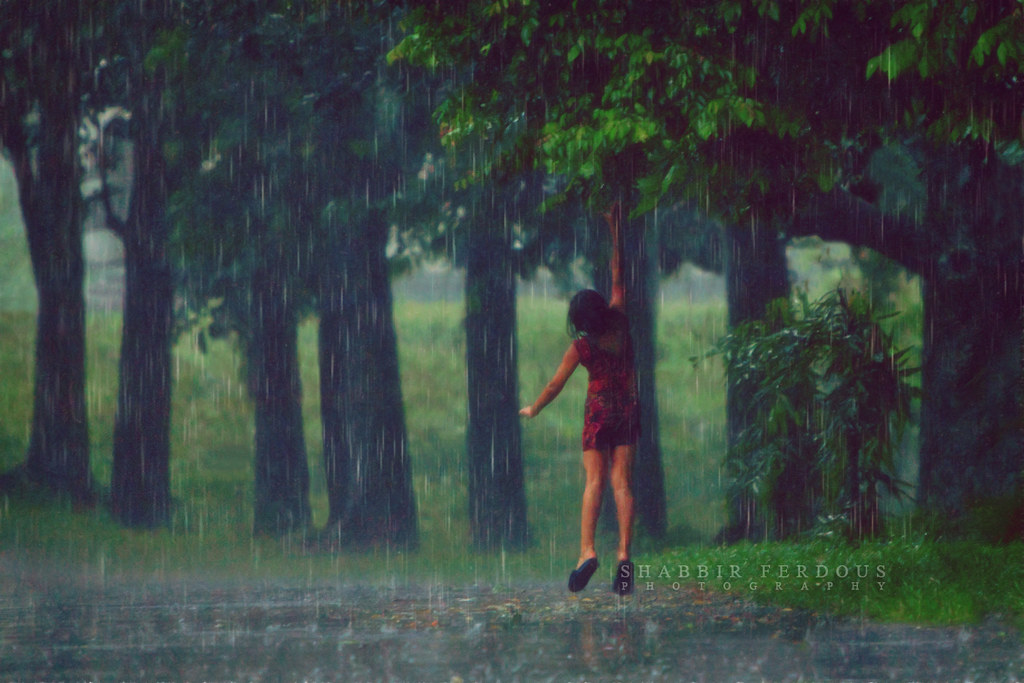 Monsoon Rain Bangladesh Secret World Like My Facebook