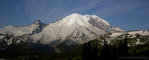 Mount Rainier from Sunrise | by Bob Noble Photography