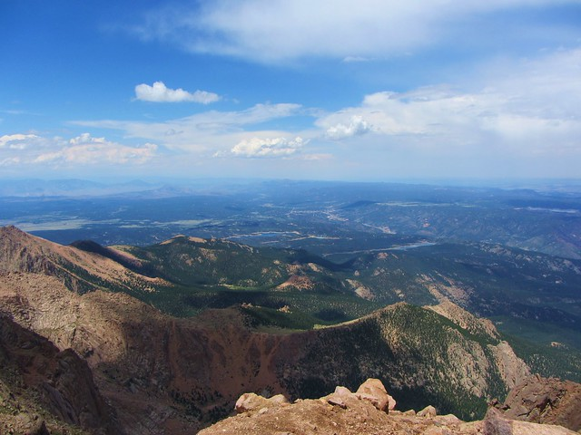 View from the top of Pikes Peak | Flickr - Photo Sharing!