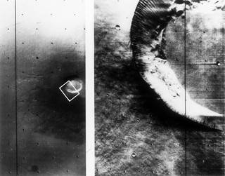 Mariner 9 views of shield volcano | by NASA on The Commons