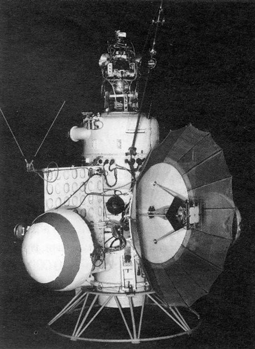 Mars 1 Description Mars 1 Was A Soviet Automatic