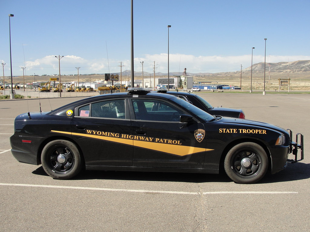 Wyoming Highway Patrol Dodge Charger J A Muscarella