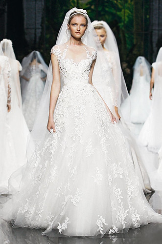 Make a Statement With Pronovias by Elie Saab 2013 Bridal Collection! | by modwedding