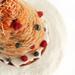 Croquembouche Cake with Lemon & Berries