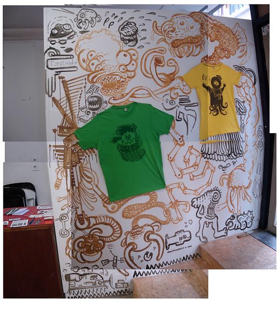 Nouvelle peinture murale teratoiid apr s celle du micro - Nouvelle peinture murale ...