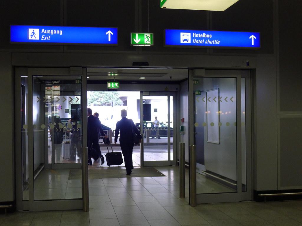 Frankfurt Arrival