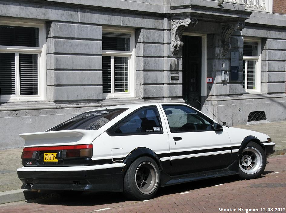 toyota corolla ae86 sprinter trueno gt apex 1986 wouter. Black Bedroom Furniture Sets. Home Design Ideas