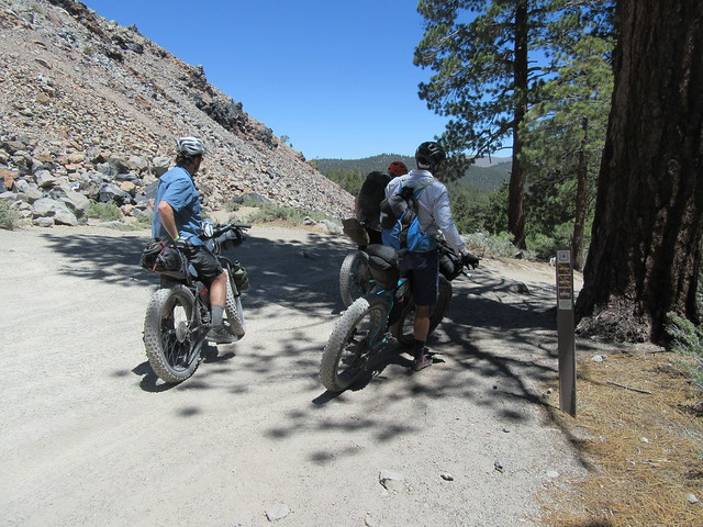 June Lakes to Mammoth Bikepacking