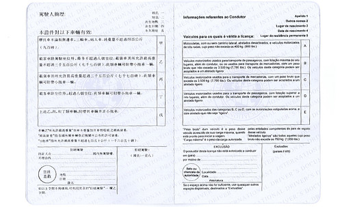 Permis international exemple 3