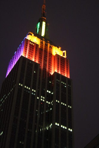 Empire State Building lighted for Gay Pride | by chrisinphilly5448