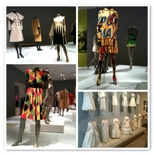 Fashion Exhibit at the Indy Museum of Art | by Lindsay Sews {@CraftBuds}