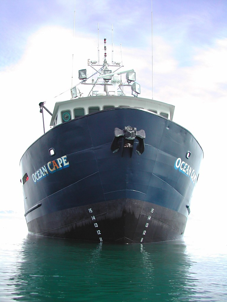 R Fisheries Ocean Cape research ve...